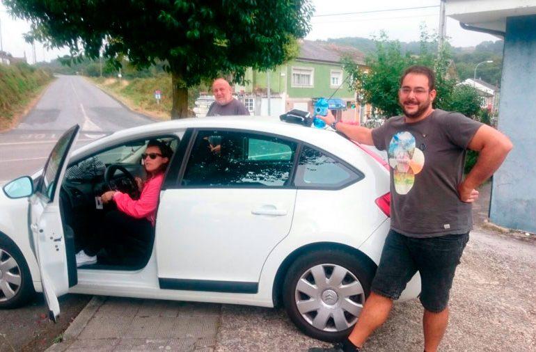 Parking Peregrinos En Sarria A Santiago Peregrino Parking En Sarria Camino De Santiago